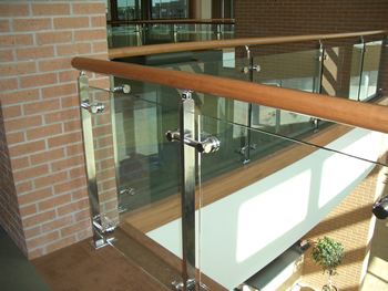 Steel Baluster Glass Modular Railings