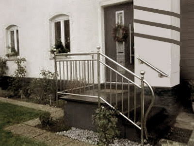 Outdoor SS Home Railing