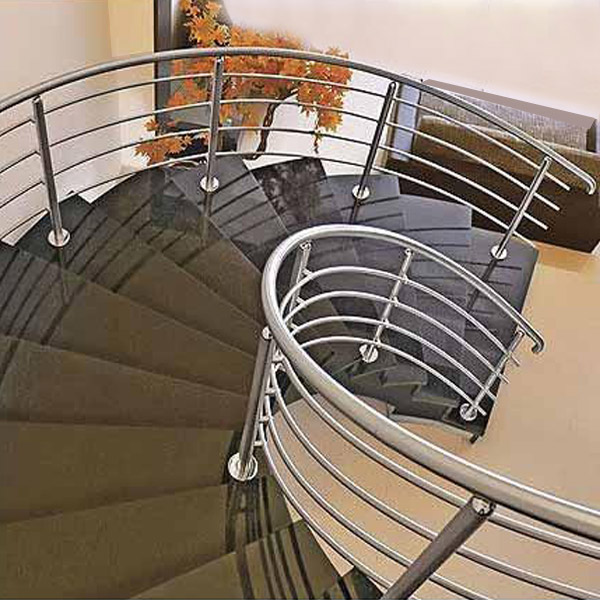 Steel Spiral Stair Railing