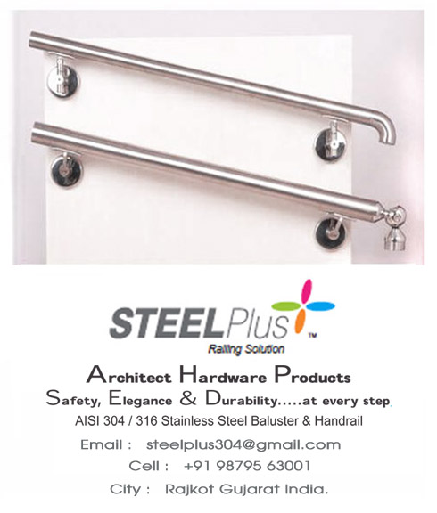 Steel Plus SS Raillings Solution Rajkot