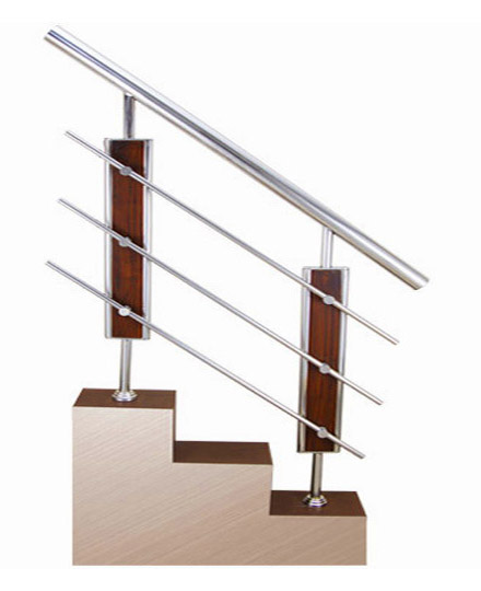 SS Wood Balustrade Railing